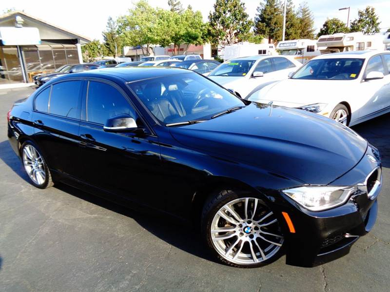 2013 BMW 3 SERIES 335I 4DR SEDAN black 1 owner clean carfax rare vehicle m-sport6 spee