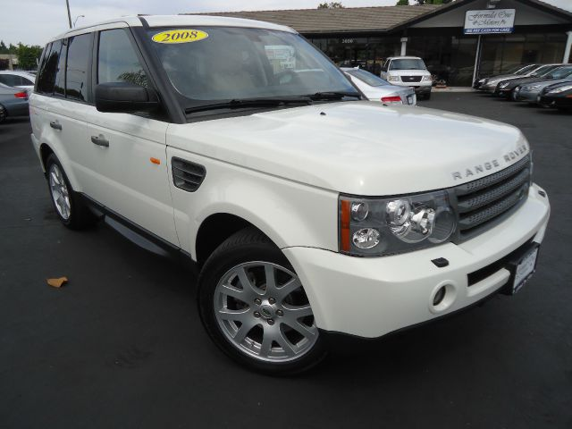 2008 LAND ROVER RANGE ROVER SPORT HSE white one owner beautiful white on  ivory  luxury pkg local