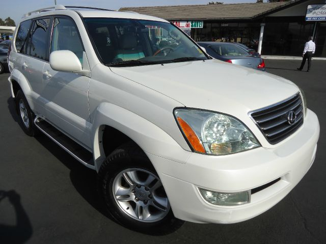 2004 LEXUS GX 470 SPORT UTILITY pearl white one owner clean car fax california unit in great shape