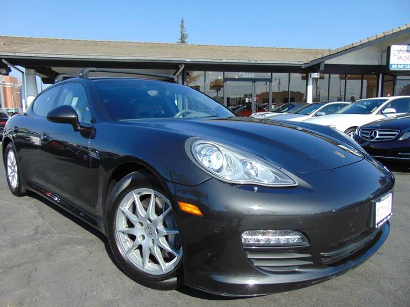 2012 PORSCHE PANAMERA BASE 4DR SEDAN brown clean carfax reportnavigationrear view camera
