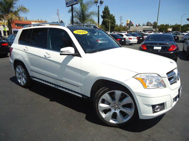 2010 MERCEDES-BENZ GLK-CLASS GLK350 4MATIC AWD 4DR SUV white 1 owner clean carfax  loaded 4