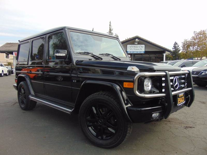 2011 MERCEDES-BENZ G-CLASS G 550 AWD 4MATIC 4DR SUV black 2-stage unlocking doors 4wd selector -