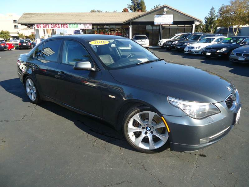 2010 BMW 5 SERIES 535I 4DR SEDAN gray california vehicle clean carfax this is  fully loaded 5