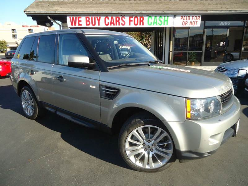 2010 LAND ROVER RANGE ROVER SPORT HSE 4X4 4DR SUV ipanema sand metallic 4wd type - full time abs