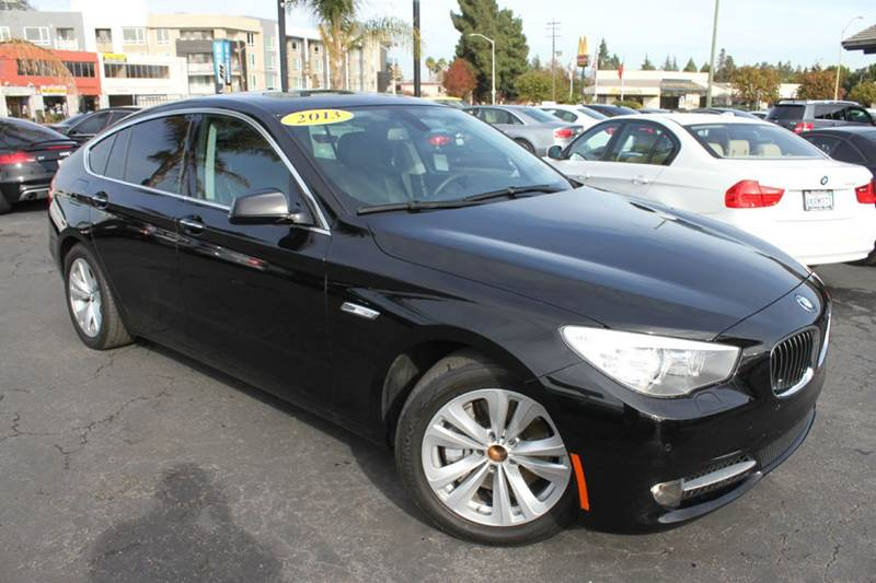2013 BMW 5 SERIES 535I GRAN TURISMO 4DR HATCHBACK black this beautiful car is a must see535i g