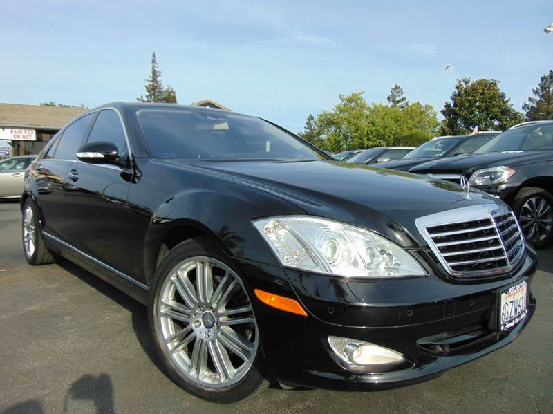 2009 MERCEDES-BENZ S-CLASS S 550 4DR SEDAN black one ownerclean carfax reportcalifornia v