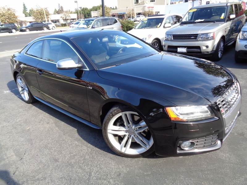 2010 AUDI S5 42 QUATTRO PRESTIGE AWD 2DR COU black clean carfax audi s4 coupe loaded naviga