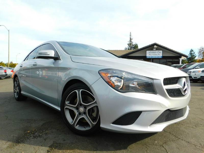 2014 MERCEDES-BENZ CLA CLA 250 4DR SEDAN silver 2-stage unlocking doors abs - 4-wheel active hea