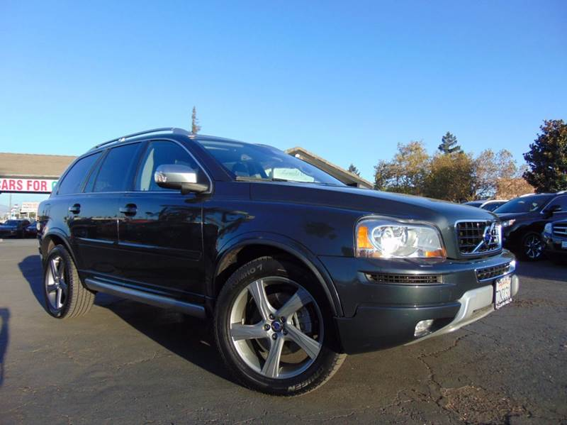 2014 VOLVO XC90 32 R DESIGN 4DR SUV gray clean carfax history reportcalifornia vehiclesec