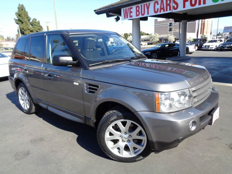 2009 LAND ROVER RANGE ROVER SPORT HSE 4X4 4DR SUV gray 2-stage unlocking doors 4wd type - full ti