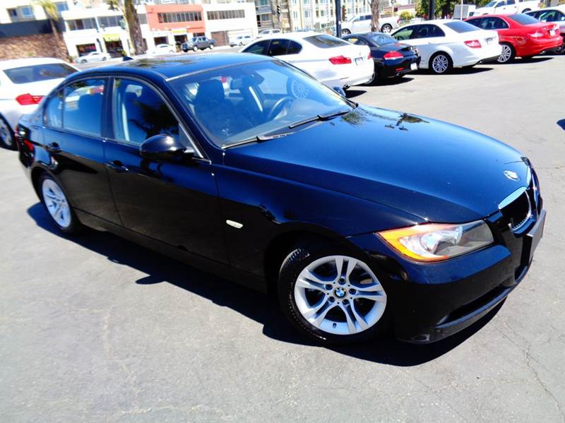 2008 BMW 3 SERIES 328I 4DR SEDAN SULEV SA black california car clean carfax low mileage