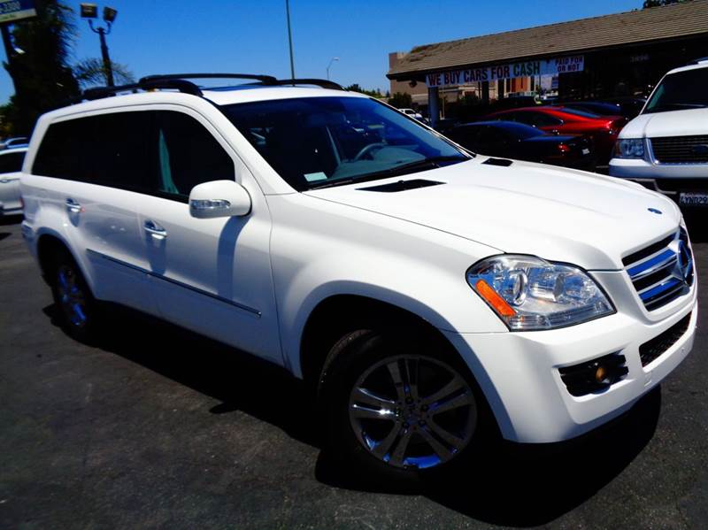 2007 MERCEDES-BENZ GL-CLASS GL450 AWD 4MATIC 4DR SUV white 2-stage unlocking doors 3rd row moonro