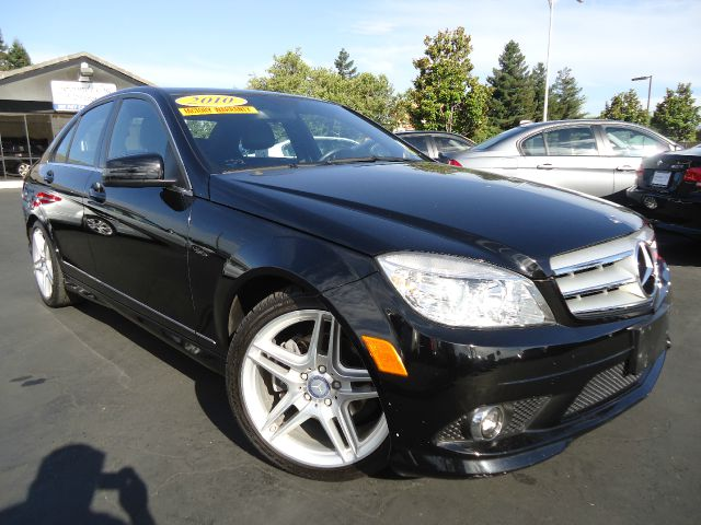 2010 MERCEDES-BENZ C-CLASS C300 SPORT SEDAN black clean car fax covered by factory warrantygtele