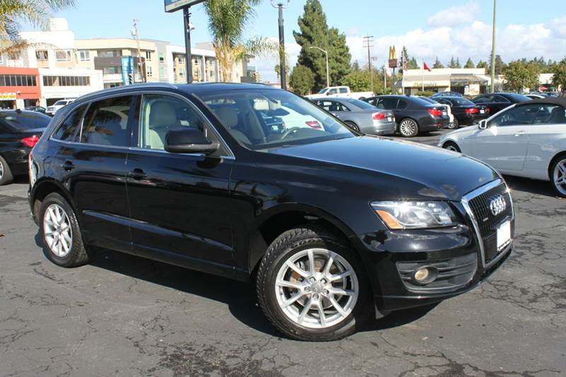 2009 AUDI Q5 32 QUATTRO AWD PRESTIGE 4DR SUV black clean carfax  navigation  leather inter