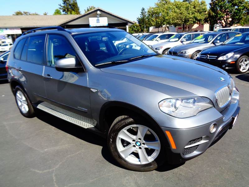2012 BMW X5 XDRIVE35D AWD 4DR SUV gray 2-stage unlocking doors 4wd type - full time abs - 4-whee