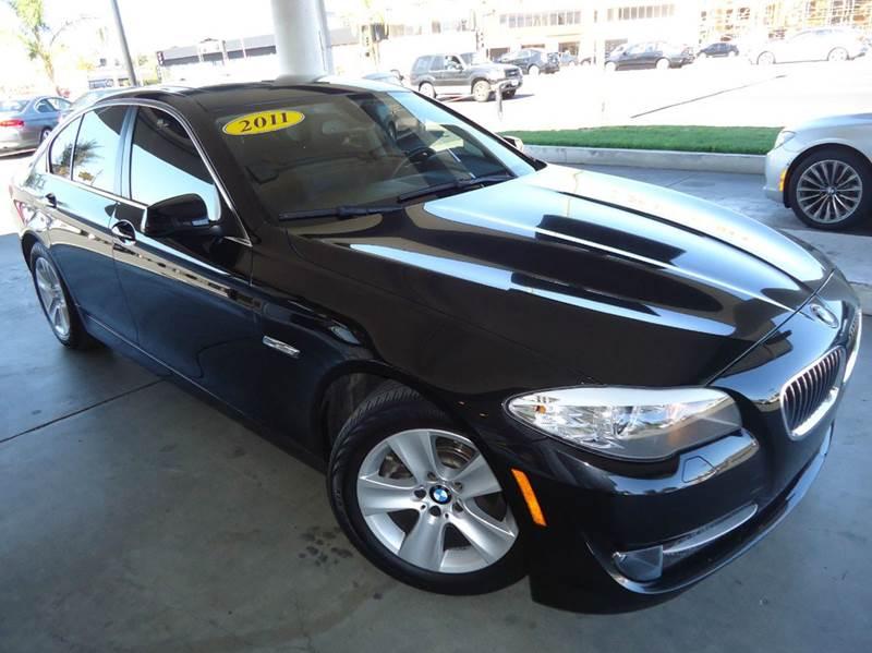 2011 BMW 5 SERIES 528I 4DR SEDAN black 2-stage unlocking - remote abs - 4-wheel air filtration
