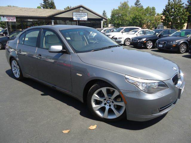 2008 BMW 5 SERIES 535I 4DR SEDAN LUXURY silver clean carfax sport and premium packagefull