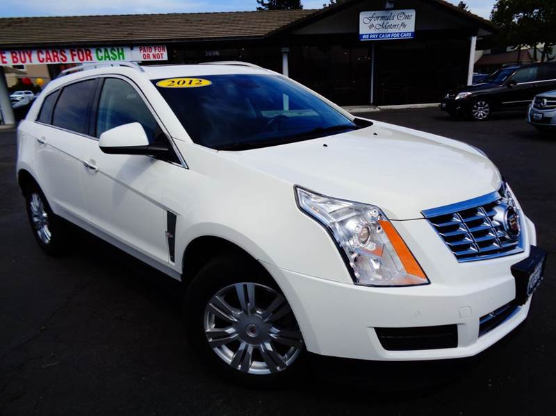 2012 CADILLAC SRX LUXURY COLLECTION 4DR SUV white 2-stage unlocking doors abs - 4-wheel adjusta