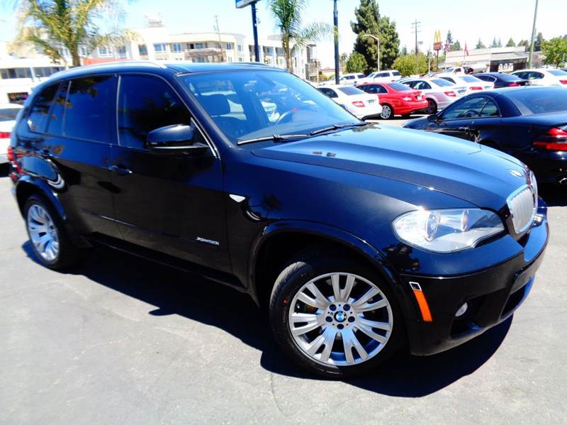 2011 BMW X5 XDRIVE50I AWD 4DR SUV black california car celan carfax comes with cpo warranty