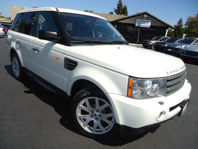 2008 LAND ROVER RANGE ROVER SPORT HSE 4X4 SUV white well taken care of california vehicle super c