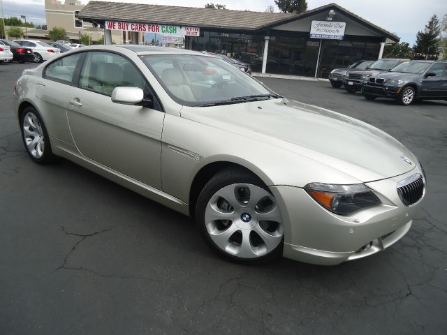 2007 BMW 6 SERIES 650I 2DR COUPE champagne fully loaded 650 serieslow miles equipped with sport