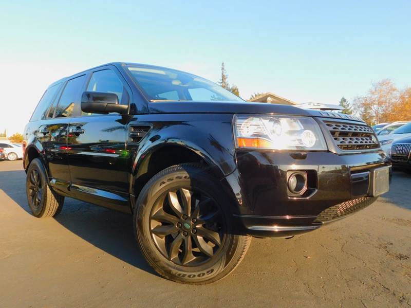 2013 LAND ROVER LR2 HSE AWD 4DR SUV black 2-stage unlocking doors 4wd selector - electronic 4wd