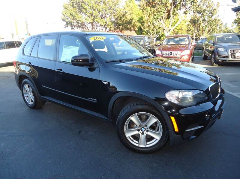 2011 BMW X5 XDRIVE35I SPORT ACTIVITY AWD 4DR black loaded  sport utility vehicle clean carfax