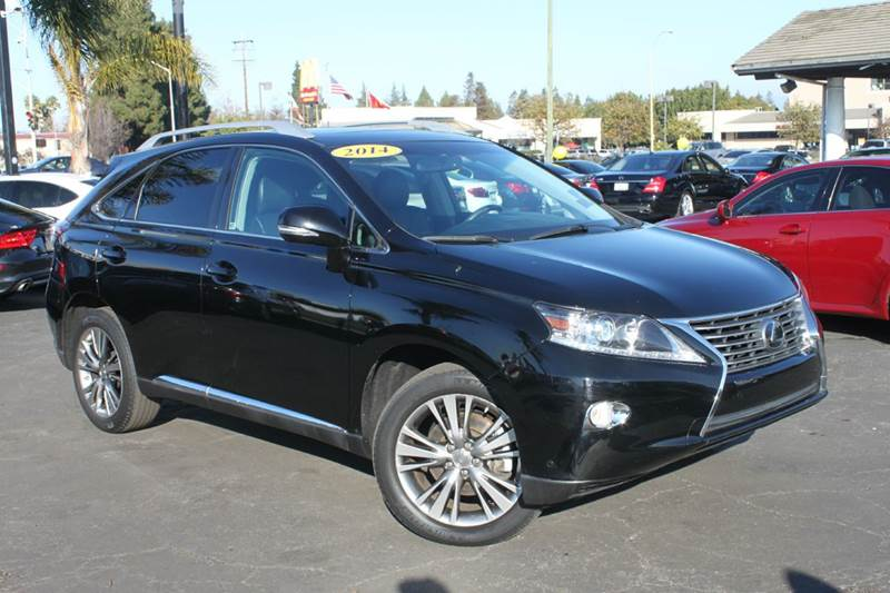 2014 LEXUS RX 350 BASE 4DR SUV black clean carfaxcomes with remainder of full manufacturer wa