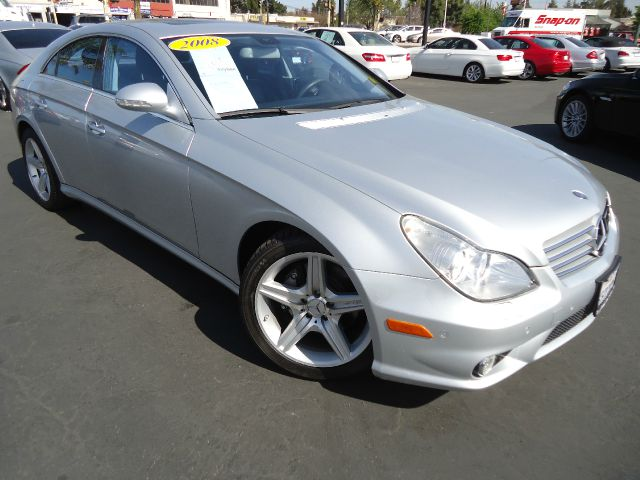 2008 MERCEDES-BENZ CLS-CLASS CLS550 4-DOOR COUPE iridium silver metalic p1 package - navigational