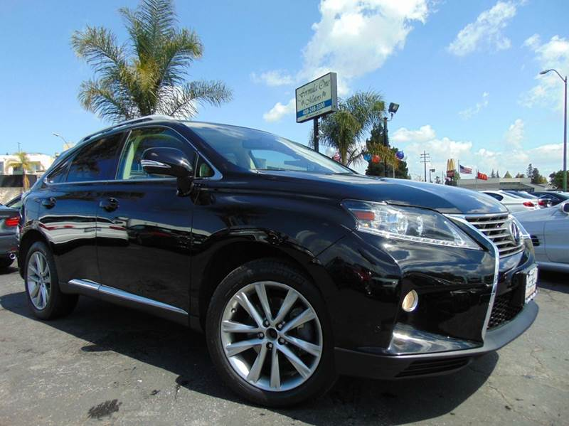 2014 LEXUS RX 350 BASE 4DR SUV black one ownerclean carfaxcalifornia vehicleloaded wit