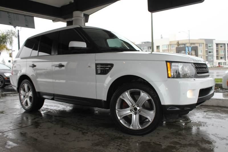 2011 LAND ROVER RANGE ROVER SPORT HSE 4X4 LUX 4DR SUV white clean carfaxnavigationback up