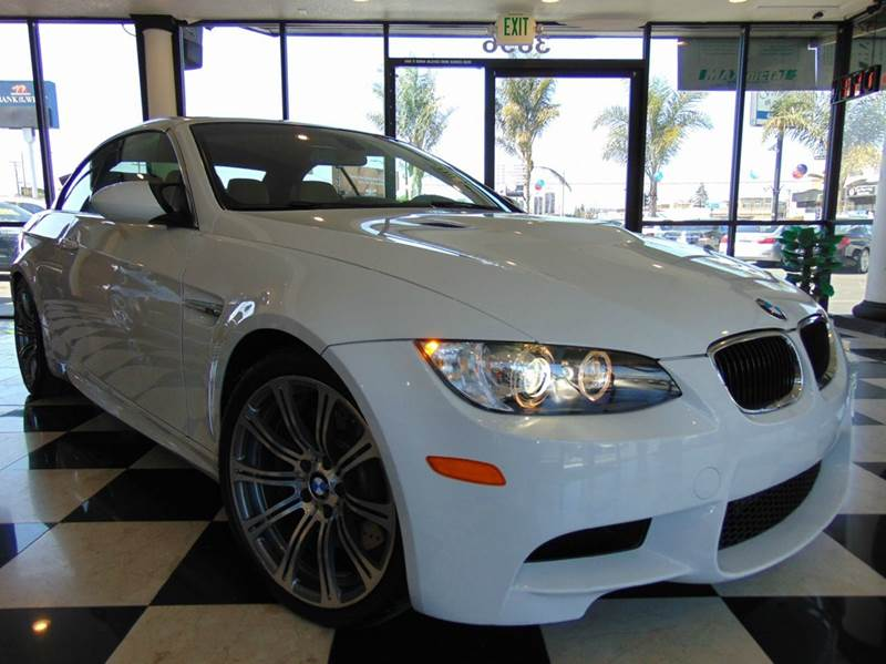 2013 BMW M3 BASE 2DR CONVERTIBLE alpine white one ownerclean carfaxcalifornia vehicle6