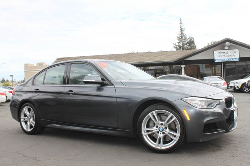 2014 BMW 3 SERIES 335I 4DR SEDAN gray one ownerclean carfaxcalifornia vehiclenavigation