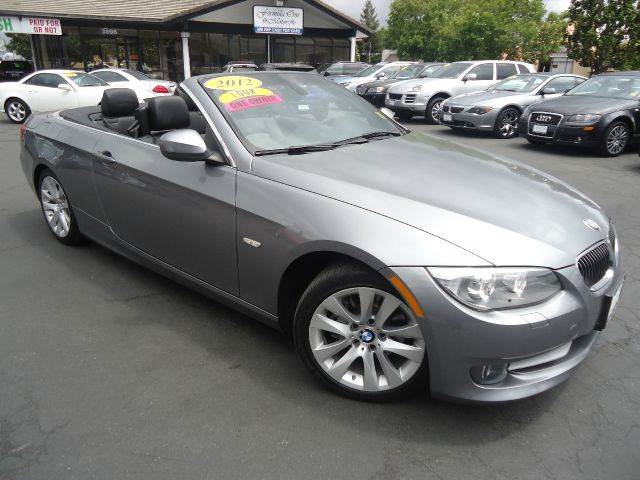 2012 BMW 3 SERIES 328I 2DR CONVERTIBLE SULEV gray low miles comes factory warrantypremium pack