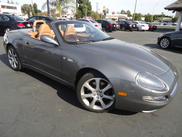 2003 MASERATI SPYDER GT 2DR CONVERTIBLE gray abs - 4-wheel anti-theft system - alarm center cons