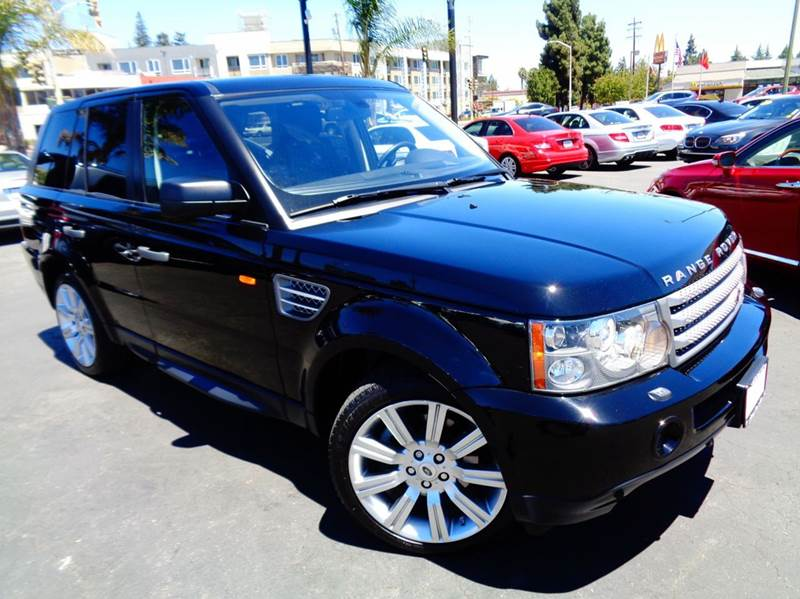 2007 LAND ROVER RANGE ROVER SPORT HSE 4DR SUV 4WD black 1 ownerclean carfax california ve