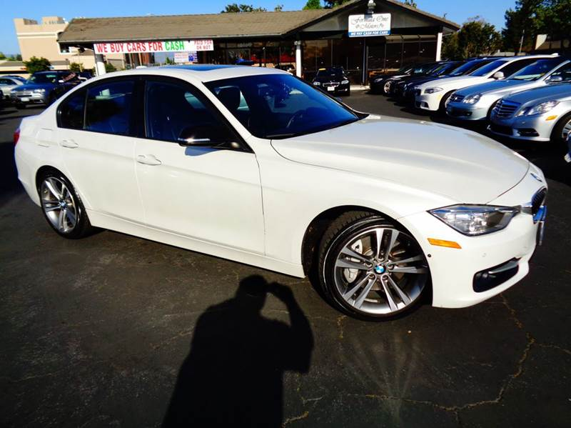 2013 BMW 3 SERIES 335I 4DR SEDAN white 1 owner clean carfax m sport loaded navigation s