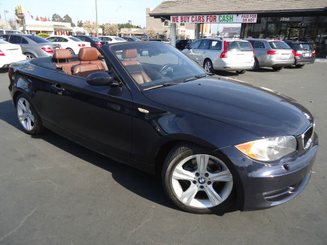 2008 BMW 1 SERIES 128I 2DR CONVERTIBLE blue fully loaded  navigation  sport package