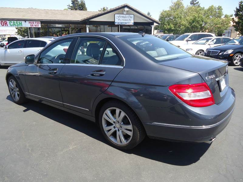 2008 MERCEDES-BENZ C-CLASS C300 SPORT 4MATIC AWD 4DR SEDAN gray low miles clean carfax 2008 m