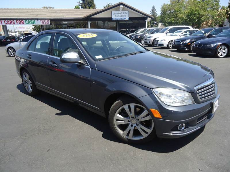 2008 MERCEDES-BENZ C-CLASS C300 SPORT 4MATIC AWD 4DR SEDAN gray clean carfax 2008 mercedes c300
