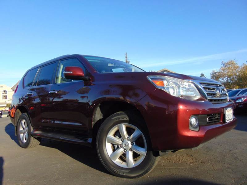 2011 LEXUS GX 460 BASE AWD 4DR SUV maroon 2-stage unlocking doors 4wd type - full time abs - 4-
