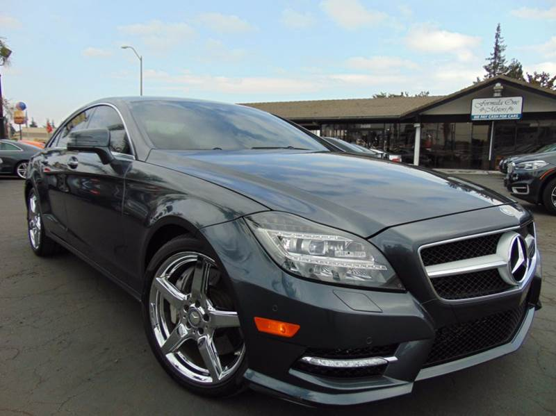 2014 MERCEDES-BENZ CLS CLS 550 4DR SEDAN gray one ownerclean carfax reportcalifornia vehic