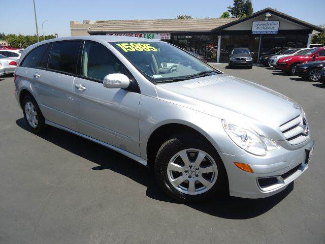 2006 MERCEDES-BENZ R-CLASS R350 AWD 4MATIC 4DR WAGON silver low miles sport utility vehicle