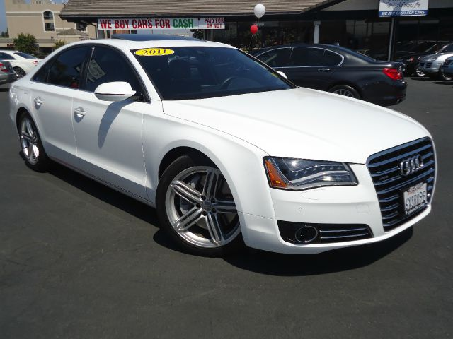 2011 AUDI A8 QUATTRO AWD 4DR SEDAN lbis white premium packagefully loaded with navigationf
