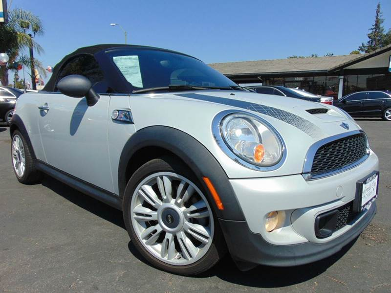 2012 MINI COOPER ROADSTER S 2DR CONVERTIBLE silver 2-stage unlocking doors abs - 4-wheel air fi