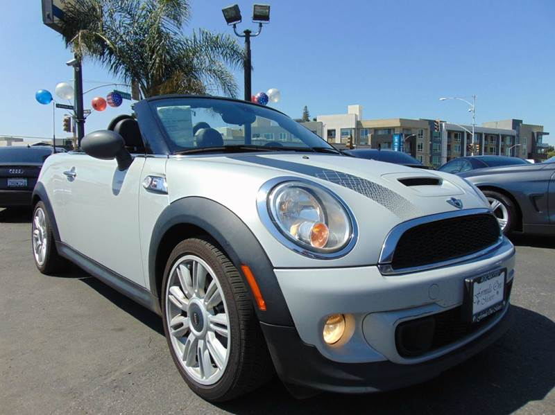 2012 MINI COOPER ROADSTER S 2DR CONVERTIBLE silver california vehicleclean carfax report1