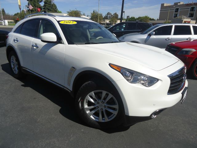 2012 INFINITI FX35 4DR SUV white fully loaded navigation system 4 cameras back up camera si