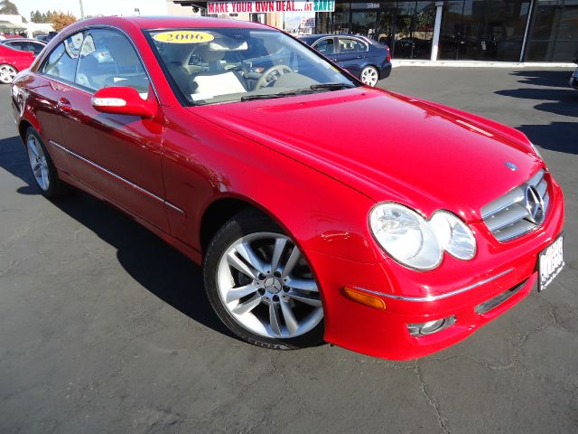 2006 MERCEDES-BENZ CLK-CLASS CLK350 COUPE mars red clean car fax california carmars red with iver