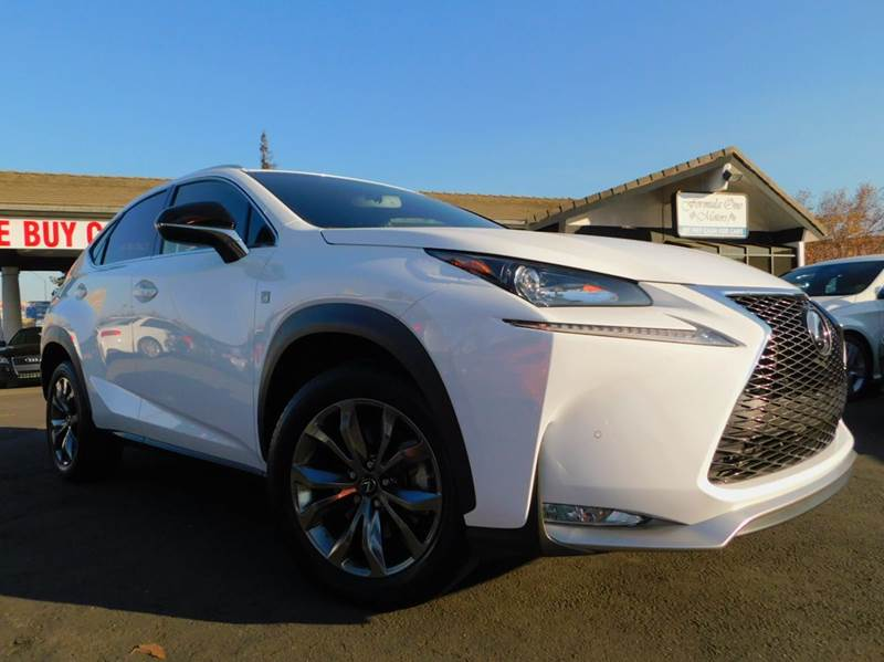 2016 LEXUS NX 200T F SPORT 4DR CROSSOVER white 2-stage unlocking doors abs - 4-wheel air filtrat