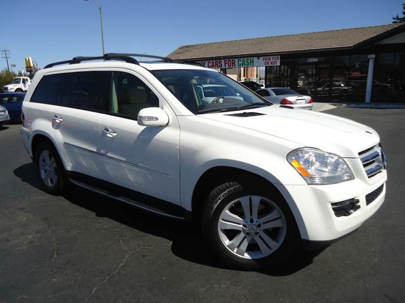 2007 MERCEDES-BENZ GL-CLASS GL450 AWD 4MATIC 4DR SUV white 2-stage unlocking - remote 3rd row su
